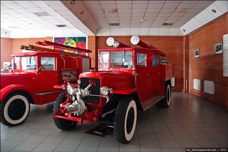 Fire Fighting Museum In Kiev