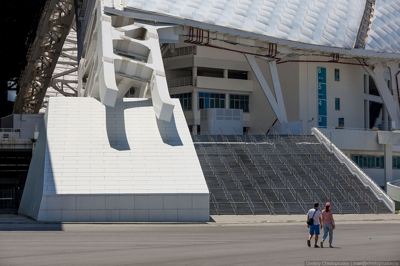 Russian Formula One Race Track in Sochi