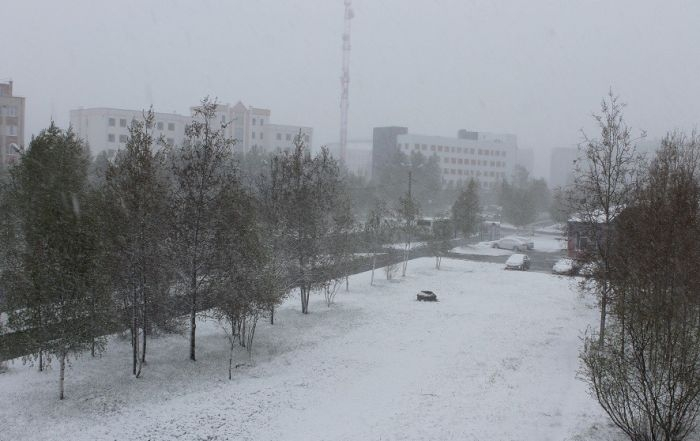 First day of summer in Russia