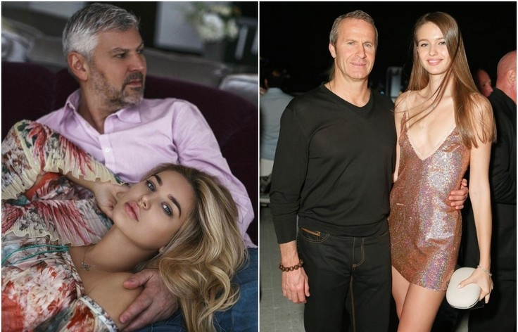 Russian Billionaires and Their Young Women