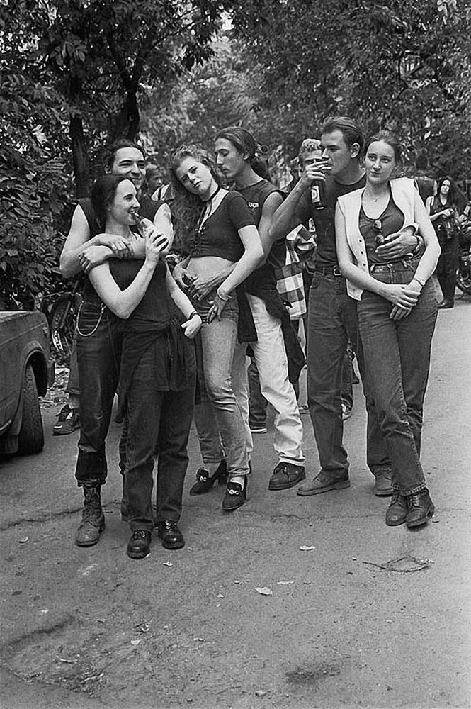 Soviet Bikers on the Photos of Igor Stomakhin
