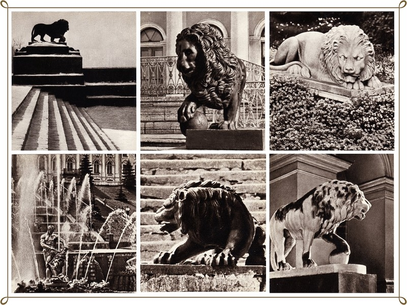 Lions Guard the City: Soviet Postcards Devoted to Lion Sculptures in St.Petersburg