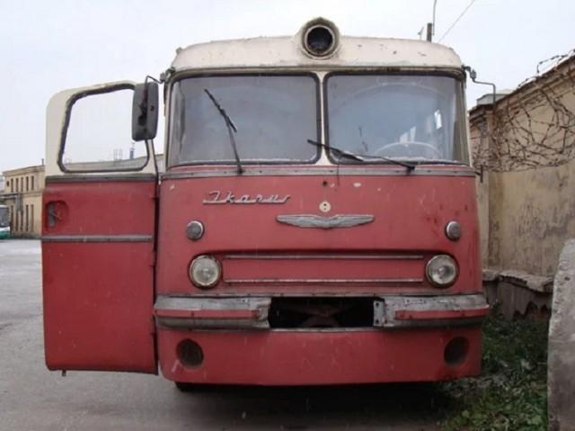 Restoring Old Ikarus Soviet Era Public Bus