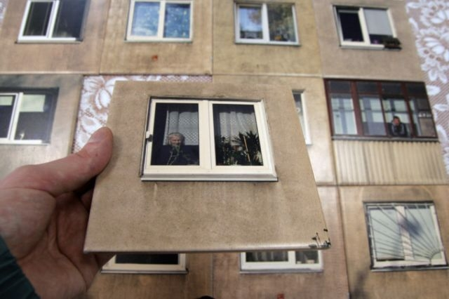 Exotic Russian Tiles with Old Soviet House Windows [photos] | English Russia
