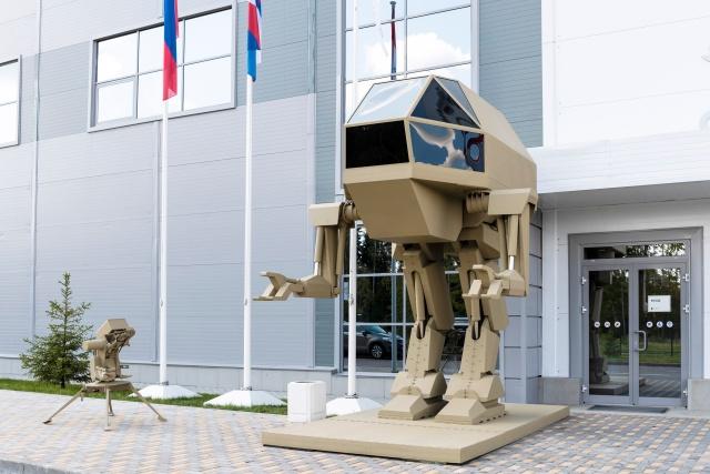 Russian Army Robot IGOREK from Kalashnikov Company