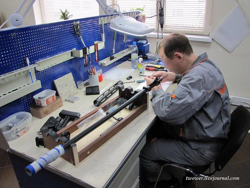 Young Moscow Factory Claims to Make Most Accurate Sniper Guns