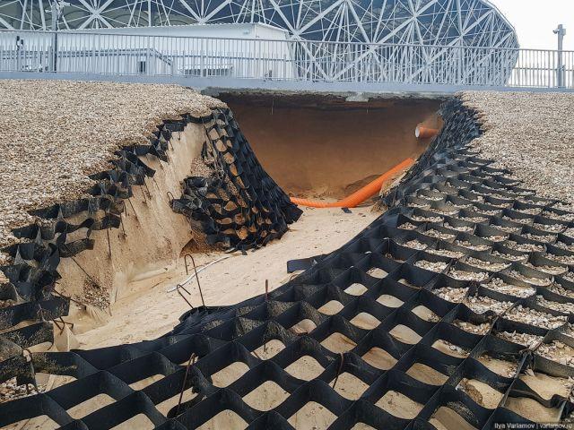 Russia Volgograd World Cup Stadium Deteriorating Already [photos + video]