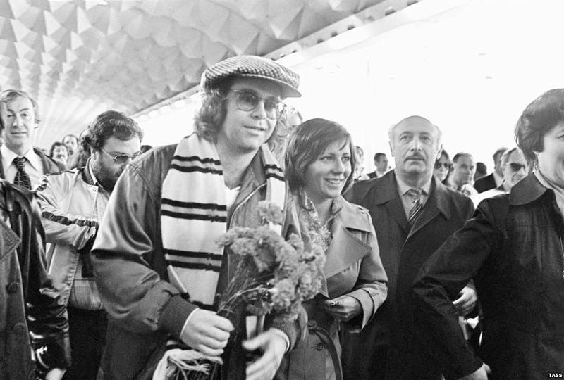 Elton John Visits USSR in 1979