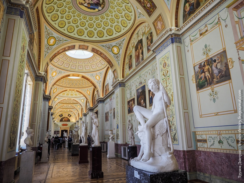 A Few Photos from Inside of Hermitage