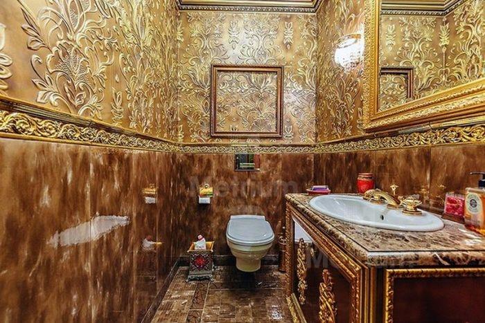"""Crazy apartment interiors of Russian """"millionaires"""" (37 photos)"""