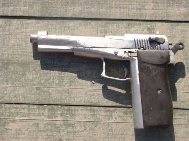 Homemade  firearms seuzed during the North Caucasus Operations