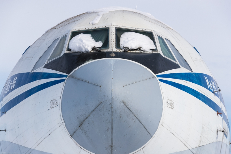 It's The Only Wide Body IL-86 Soviet Plane