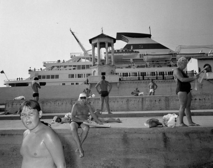 Soviet Black Sea resort Sochi in 1988