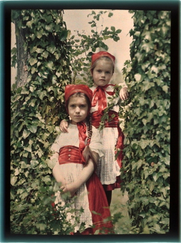 First Russian Color Photos by Pyotr Vedenisov