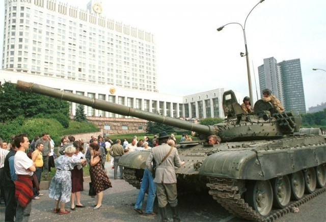 Moscow in the 1990s