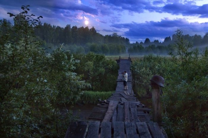 Some Nice Collection of Hanging Bridges Across the Russia