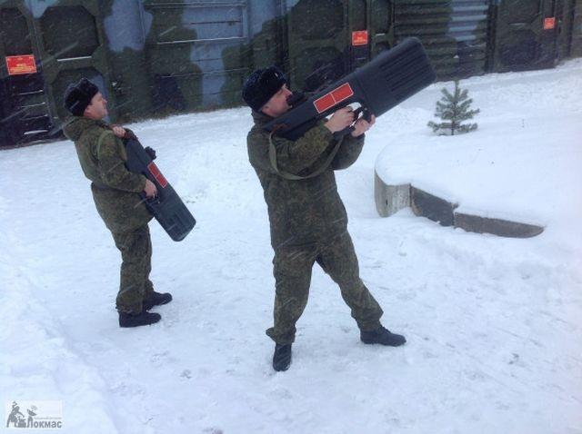 Russian Anti Drone Guns [photos]