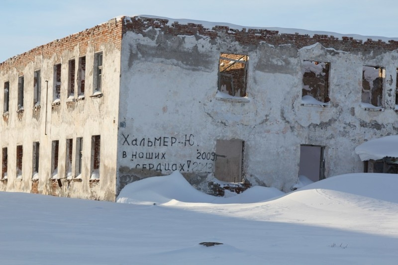 Ghost cities of Russia: Halmer-U Town That President Putin Dropped a Bomb At