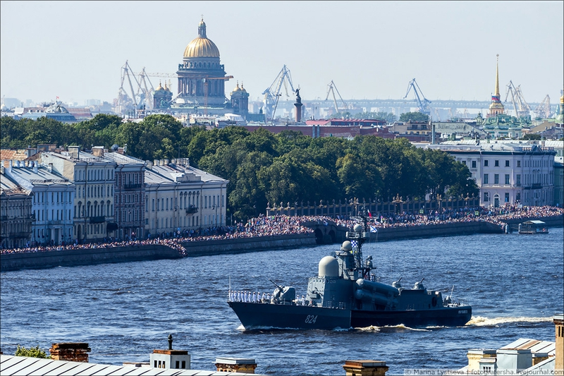 NAVY Parade Petersburg 2018 [photos]