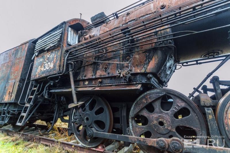 Russian Abandoned Railroad Graveyard