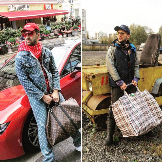 Russian blogger is cosplaying different stars for low budget