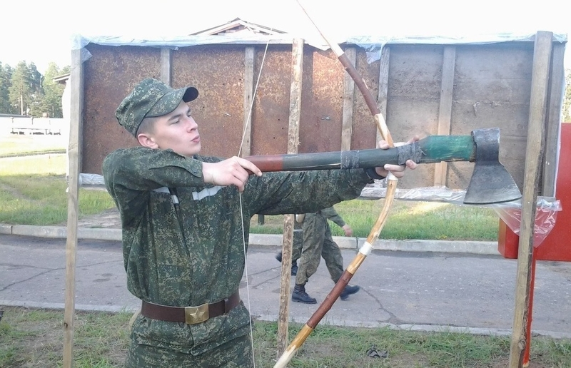 Funny Photos from Russian Army
