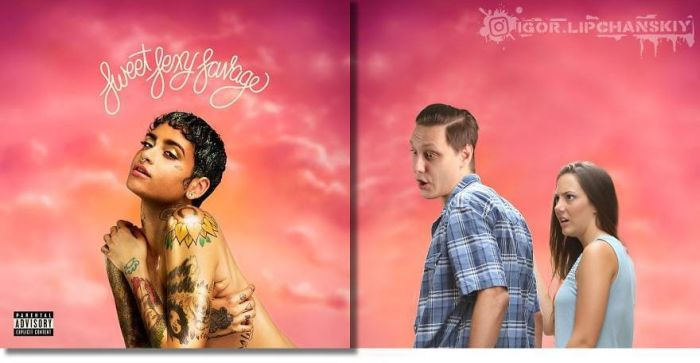 Russia Photoshoper Put Himself on Famous Album Covers [20 examples]