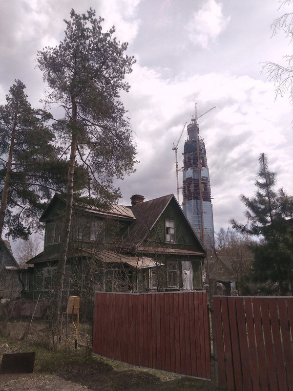 Most Tall Building from Russia: 50 Non Conventional Views on It