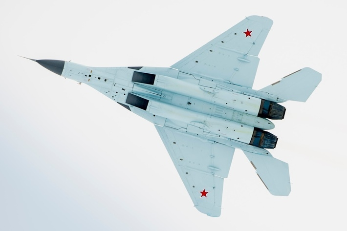 Newest Russian MiG-35 Jet, Exclusive Pictures from Today's Presentation