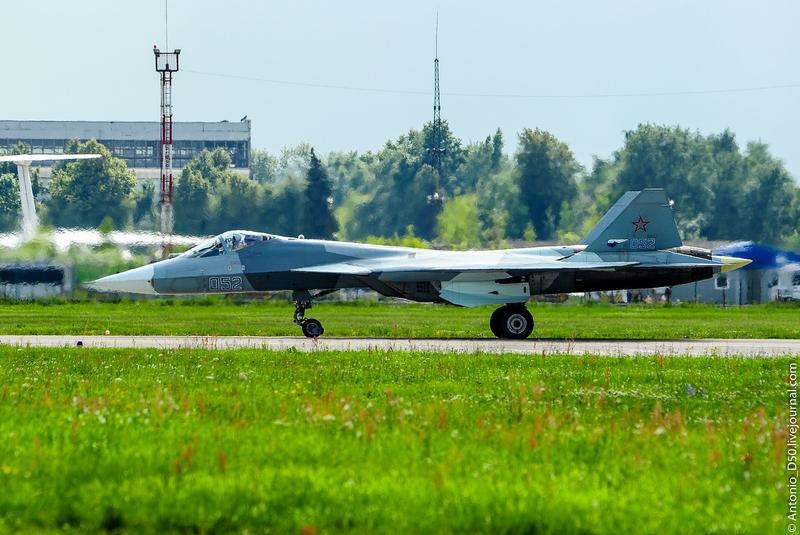 Russian Newest Next Generation Jet SU-57 or PAK-FA T50 Freshest Photos
