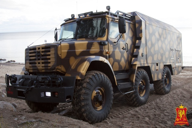 Comfortable Armored Camper Truck made from Soviet ZIL Truck [13 photos]