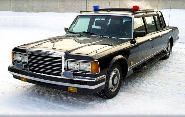 Special Vehicles Soviet KGB Used [photos+story]