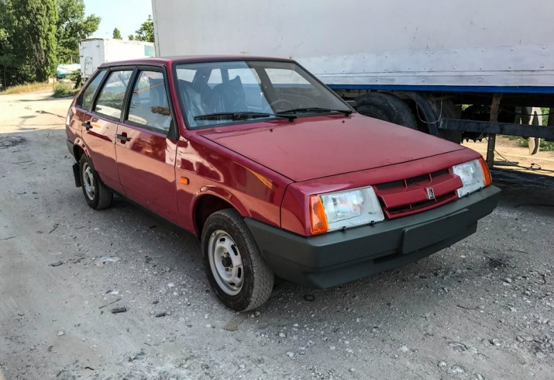 Rare Soviet LADA 2109 Time Capsule