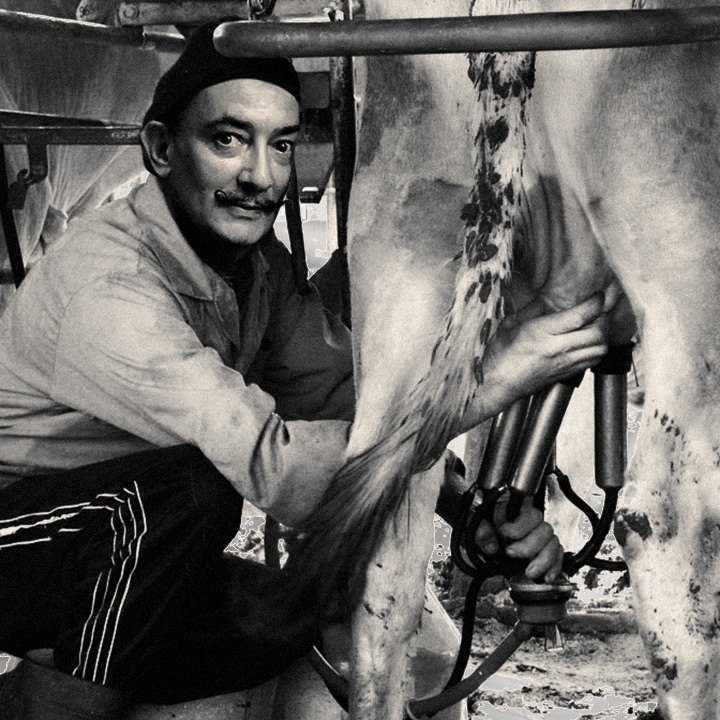 Salvador Dali in USSR KGB Leaked Photos