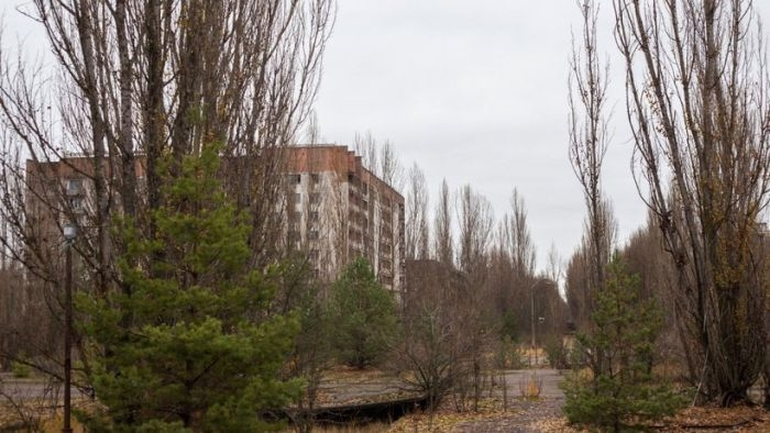Pripyat: Before and After Photos