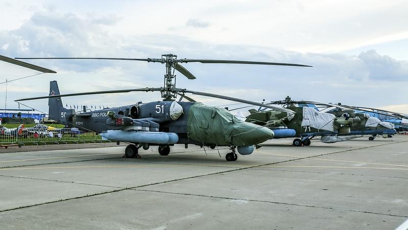Russian Air Show Maks 2017