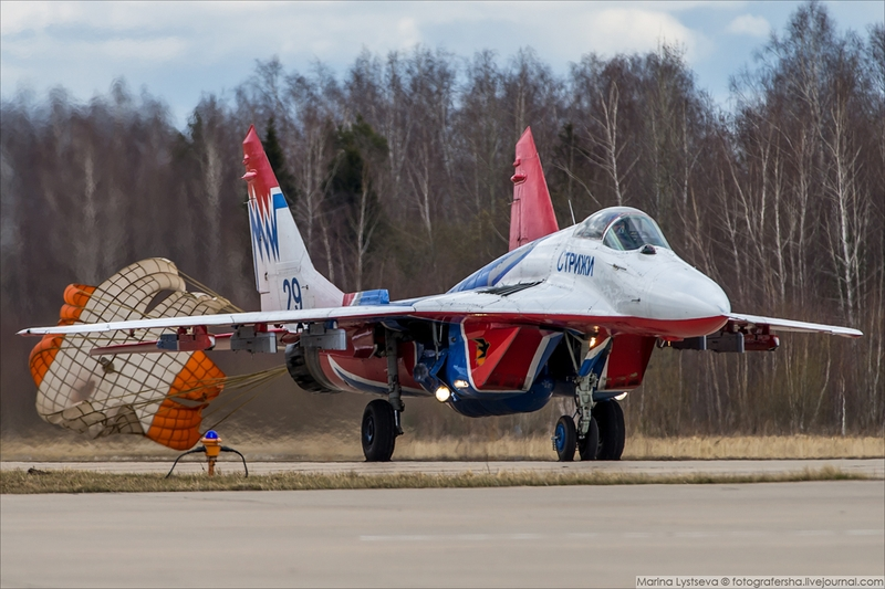 Victory Day Air Show Rehearsal 2017