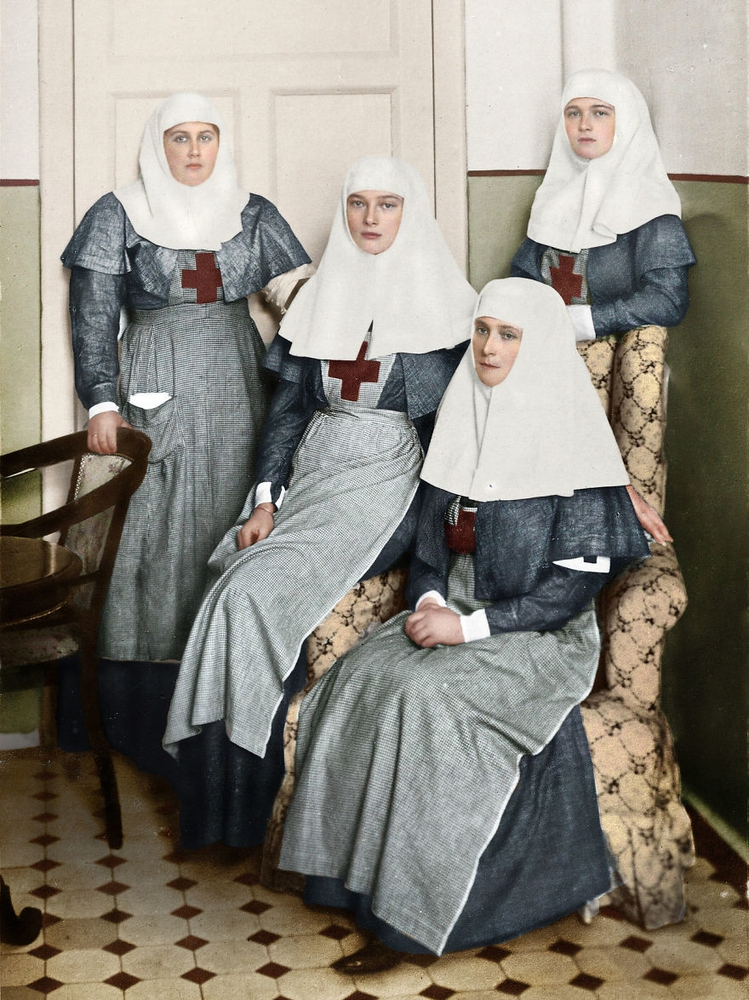 Awesome Collection of Russian Vintage Photos Colorized
