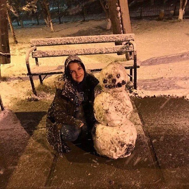 Anomaly May Snowfalls in Siberia Russia 2017