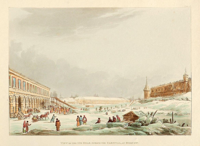 Color Lithographies of Moscow in 1813 [photos]