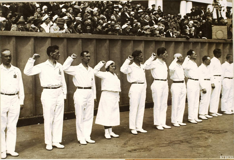 Stalin's Parade of Atheletes in 1933