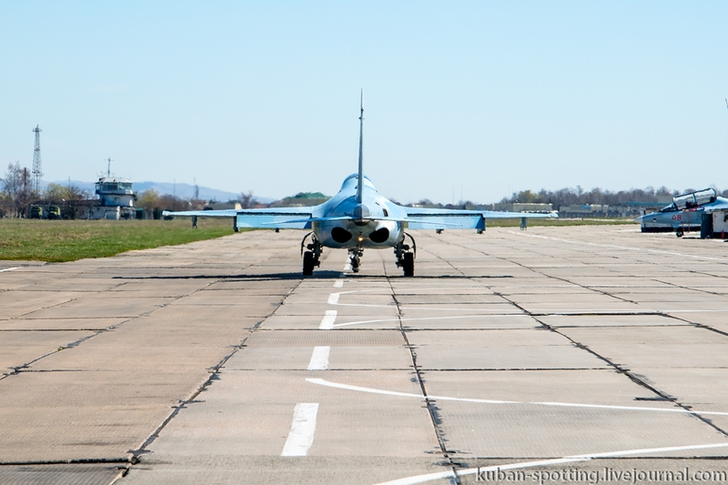 Training flights on Brand New Yak-130 Training Jets in Russian Air Force Academy