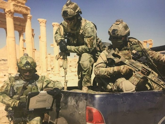 Photos and Videos of Russian special forces fighting in Syria 2017