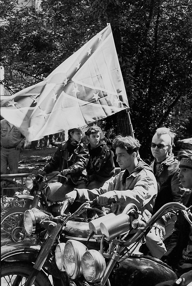 Soviet Bikers on the Photos of Igor Stomakhin