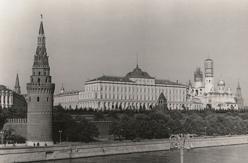 German Tourist Visits Moscow in 1955
