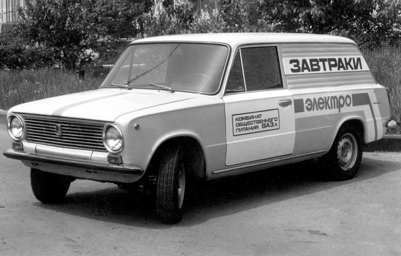 Soviet Tesla: Electric Lada from 30 Years Ago That Was Mass Produced