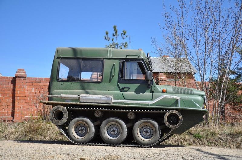 Self Made Tracked Vehicle GV3
