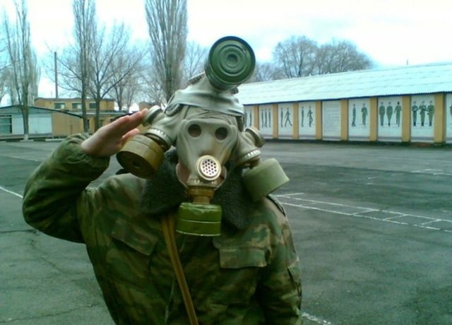 Meanwhile in the Russian Army