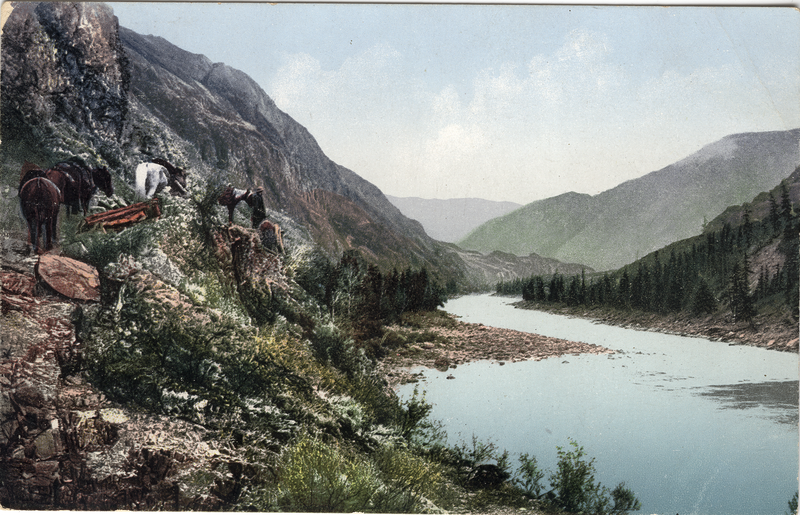 Color Photos of 1907-1911 Altai Mountains of Russia