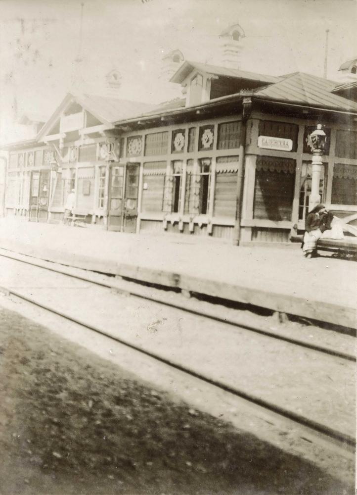Russian Ussuriysk Siberian Railroad in 1897